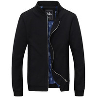 Men Zipper Jackets Coats Jaqueta Masculina Veste Homme Parkas Men's Casual Slim Fit Large Size Jackets BL