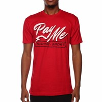 Pay Me SS T-Shirt Red