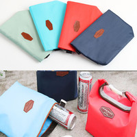 Tote Portable Insulated Pouch Cooler Waterproof Food Storage Bag insulated lunch bag CF