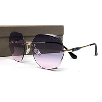 Dior Inspired - JB3Y1 Titanium Blue Cat Eye Sunglasses 54mm