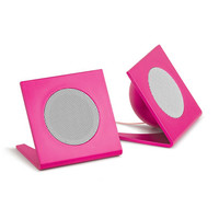 Universal Square Stereo Speakers