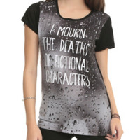 I Mourn Characters Girls T-Shirt