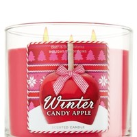 Winter Candy Apple 14.5 oz. 3-Wick Candle   - Slatkin & Co. - Bath & Body Works