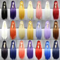Colorful Anime Play Wigs