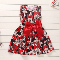 Minnie Mouse Baby Girl Red Dress
