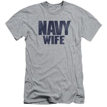 Navy - Wife Short Sleeve Adult 30/1