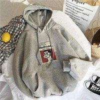Streetwear Hoodies Sweatshirts Women Long Sleeve Fleece Hoodie Clothes Tracksuit Jacket War