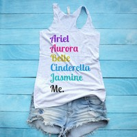 Disney Princess Tank Top