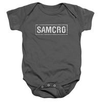 Sons Of Anarchy SAMCRO Baby Onesuit