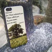 Bible Verse for iphone 4/4s, iphone 5/5s/5c, samsung s3/s4 case sover in feronika