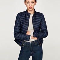 LIGHTWEIGHT QUILTED JACKET DETAILS