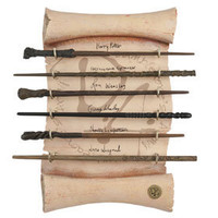 Dumbledore's Army Wand Collection | Universal Studios Merchandise