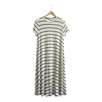 Go with the Flow Dress in Oatmeal