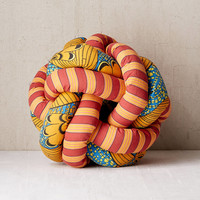 Printed Knot Pillow | Urban Outfitters