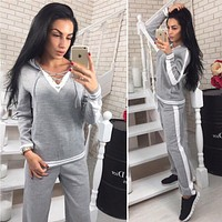 Women's Casual Hooded Tracksuits