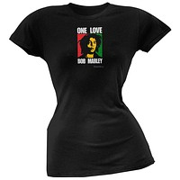 Bob Marley - One Flag Juniors T-Shirt