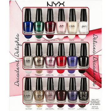 Nyx Cosmetics Decadent Delights Nail Art Collection Ulta.com - Cosmetics, Fragrance, Salon and Beauty Gifts