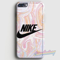 Nike Just Do It Water Marble Pastel iPhone 7 Plus Case | casefantasy