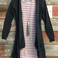 Just Another Dream Cardi: Grey