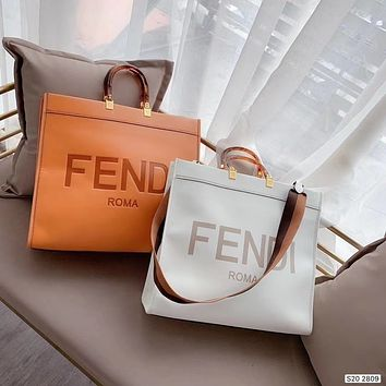 FENDI Shopper Tote Bag