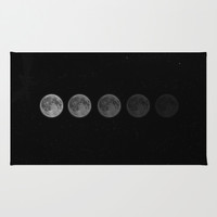 Moon Area & Throw Rug by Taylor Bissett | Society6
