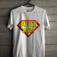 super Mom and Super Dad couple women 3 for man and woman shirt / tshirt / custom shirt