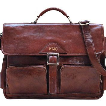 Personalize Roma Buckle Messenger