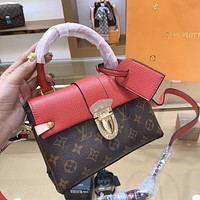 LV Vintage Presby Colorblock Women's Handbag Shoulder Bag Crossbody Bag