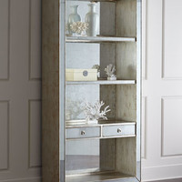 John-Richard Collection Regent Mirrored Bookcase