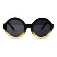 Villa Black Gloss w/ Fade Sunglasses
