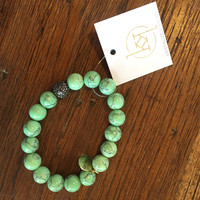 Kristalize Jewelry- Reagan Bracelet- Lime