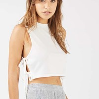 **Tie Side Crop Top by One Day - Clothing