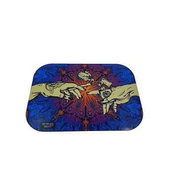 Puff Puff Pass It - Metal Tray w/ Magnetic Lid (4 colors)