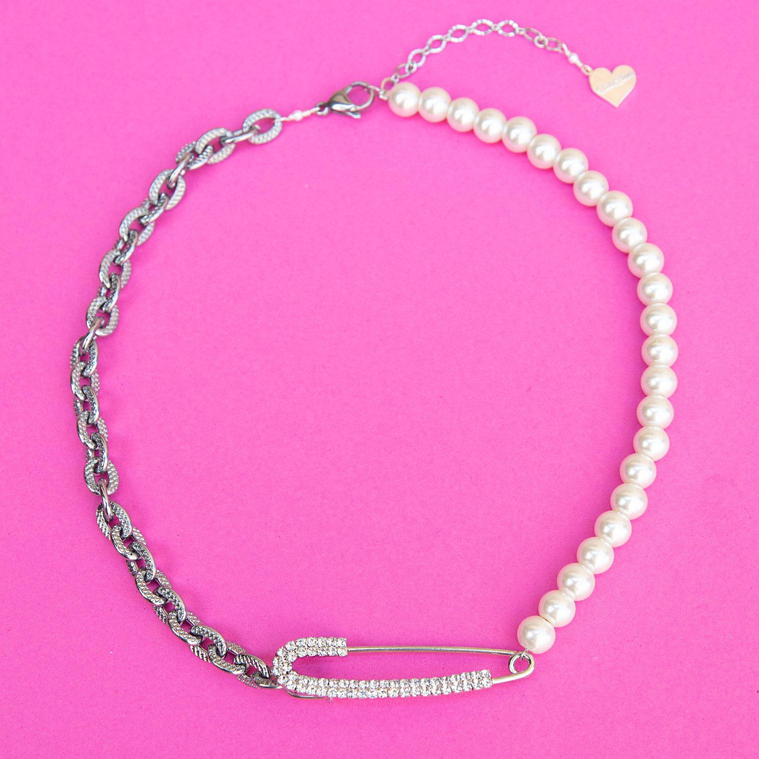 Image of Pearl 50/50 Safety Necklace