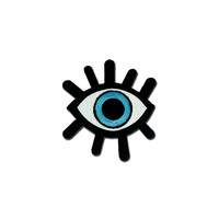 Eye Patch, Eye Iron on Patch, Eye Applique Embroidered Iron on Patch
