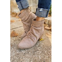 Not Rated Salta Heels- Taupe