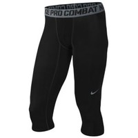 Nike Pro Combat Core Compression 3/4 Tights - Men's at Eastbay
