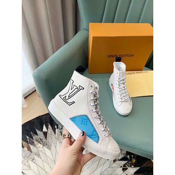 lv louis vuitton womens mens 2020 new fashion casual shoes sneaker sport running shoes 8