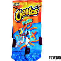 Cheetos PUFFS Custom Nike Elite Socks ALL SIZES!!