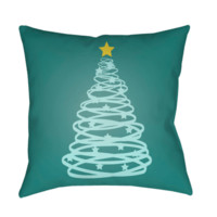 Christmas Tree Pillow ~ Green