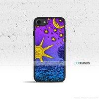 Sun Moon & Stars Phone Case Cover for Apple iPhone iPod Samsung Galaxy S & Note
