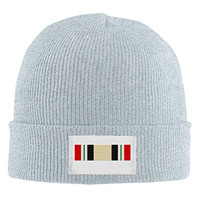 AVENOX Iraq Campaign Ribbon Trendy Soft Beanie Hat And Snapback