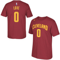 Kevin Love Cleveland Cavaliers adidas Net Number T-Shirt – Wine
