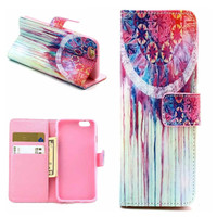 thnic Tribal Print Leather creative case Cover Wallet for iPhone 6 / iPhone Plus