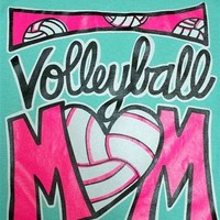 Southern Chics Funny Volleyball Mom Sports Sweet Girlie Bright T Shirt