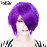 Cosplay Wigs USA™  Boy Cut Short - Purple Grape -00450