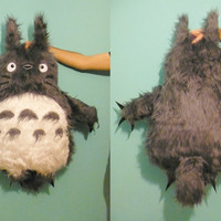 ENORMOUS TOTORO soft toy 39,4 inches Peluche gigante.