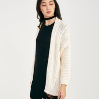 Cozy Cable Knit Cardigan | Wet Seal