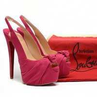 CL Christian Louboutin Fashion Heels Shoes-44