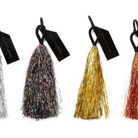 Tinsel Tassel Key Chains, Multi, Set of 4, Other Lifestyle Accessories